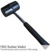 Estanterías Metalicas Acero Inoxidable T-rax Sin Tornillos Azules 5 Estantes