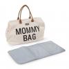 Childwheels Bolsa Para Pañales Mommy Blanco Crudo Cwmbbwh