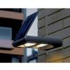 Lámpara Solar Led 12w De Pared Para Exterior 2 Direcciones