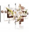 Cuadro - Flowery Installation , Tamaño - 100x50