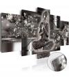 Cuadro Acrílico - Silver Serenity [glass] , Tamaño - 100x50