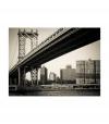 Fotomural - Puente De Manhattan, Nueva York , Tamaño - 400x309