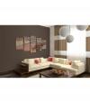 Cuadro - Romantic Gondolas - 5 Pieces , Tamaño - 100x50