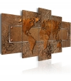 Cuadro - Brown Escapade , Tamaño - 200x100