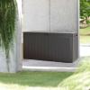 Baúl De Jardín Prosperplast Boardebox 116 X 43,3 X 55 Cm Ocre Oscuro