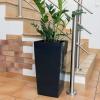 Maceta Alta Plástico Prosperplast Urbi 49l 32,5x 32,5x 61cm Antrancita