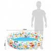 Piscina Hinchable Intex 3 Aros Peces 132x28 Cm - 248 L/agua