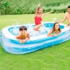 Piscina Hinchable Intex Rectangular 262x175x56 Cm - 770 L
