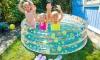 Piscina Hinchable Transparente (infantil) Diam 150 X H 53 Cm
