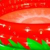 Piscina De Fresa Para + 2 Años Roja De Pvc Infantil De Ø 160x38 Cm