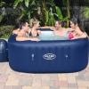 Spa Hinchable Bestway Lay-z-spa Hawaii Para 4-6 Personas Cuadrado
