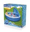 Piscina Hinchable Para Niños Con Refugio Solar 244cm Inflable Bestway Verano