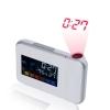 Reloj Proyector Hora Luz Led Con Estación Meteorológica