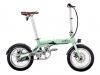 Bicicleta City 4 Speed Eovol Plegable Verde