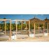 Cama Balinesa Caribe Sin Techo,  190 X 150 X 30cms