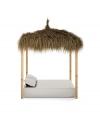 Cama Balinesa Caribe Con Techo,  190 X 150 X 30cms