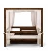 Cama Balinesa Convertible, 200 X 200 X205 Cms