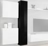 Armario Colgante Modelo Berit 30x180 En Color Negro