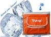 Bolsa Térmica Capacidad 25l Correa Para El Cómodo Transporte Refrigerante | Naranja