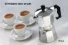 Cafetera Italiana Cl�sica Metalizada/3 Tazas Caf� - Caf� Expresso Welkhome