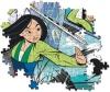 Clementoni-puzzle 104 Piezas Mulan