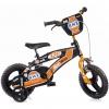 "Bicicleta De Niños Bmx Naranja 12"" Dino Bikes"