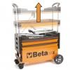Beta Tools Carro Portaherramientas Plegable De Acero C27s-o Naranja