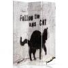 Biombo - Separador - Cat Graffiti Cm.  110x150 (3 Paneles)