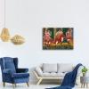 Impresión Digital - Bailarines De Zarda Ernst Ludwig Kirchner Cm 60x80