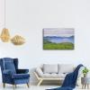 Impresión Sobre Lienzo - F. Hodler Paisaje En El Lago Ginebra Cm 50x70