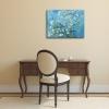 Impresión Sobre Lienzo - Vincent Van Gogh Almendro En Flor Cm. 80x110