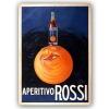 Impresión Sobre Metal - Aperitivo Rossi Cm. 30x40