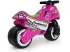 Injusa - Moto Correpasillos Neox Kawasaki Rosa Recomendada A Niños +18 Meses Con Ruedas Anchas De Plástico Y Asa De Transporte
