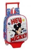 Mochila Mickey Things Guardería Con Carro