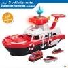 Barco De Bomberos Con Vehículos Speed & Go