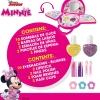 Bolso Estuche De Maquillaje Minnie 3 Niveles Disney