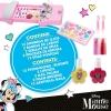 Bolsito De Maquillaje Con 2 Niveles Y Espejo Minnie Mouse Disney