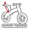 Bicicleta Sin Pedales De Madera Azul Play & Learn