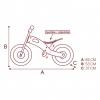 "Bici Sin Pedales En Madera Modelo Unicornio 12"" Woomax"