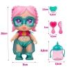 Muñeca Superheroína Super Cute Gabi Con Accesorios