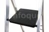 Escalera Doméstica De Aluminio Tijera Un Acceso 7 Peldaños Anchos Con Asa Serie 350