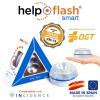 Luz De Emergencia V16 Homologada Help Flash Smart Autónoma Polipropileno