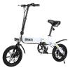 """Dohiker Yinyu14 Bicicleta Eléctrica Plegable 14"""" 7.5ah 25km/h Bateria Tres Modos De Conducción Blanco"""