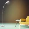 Floureon U19a-60 9w Lámpara De Piso, 3000k A 6500k, Luz De Noche, 25 Tipos De Iluminación, Establecer Temporizador