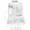 Set De Herramientas Casals  De 145 Piezas Hh145
