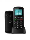 """Brigmton Btm-11 1.7"""" 85g Negro Teléfono Para Personas Mayores Teléfono Móvil"""