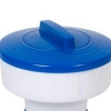Porta Cloro Dispensador Para Piscinas 17x15,5 Cm - Azul/blanco