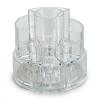 Caja Expositora Redonda Desplegable Para Organizar Cosméticos. Diseñada Con 9 Compartimentos Para Un Almacenamiento Fácil De Tod