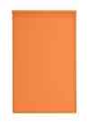Estor Enrollable Opaco, Ancho De 170x230 De Largo, Color  Naranja