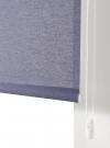 Estor Enrollable Tejido Hilo Color Traslúcido,110x250, Color Marino